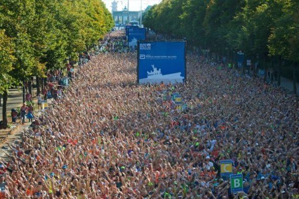 Das sind die 40.000 Läufer beim Berlin-Marathon 2019