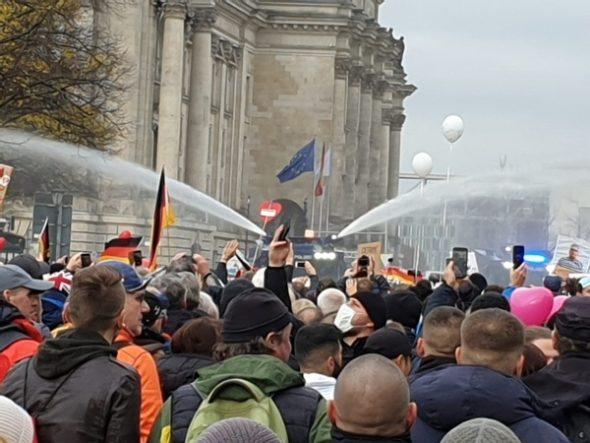 Kein guter Tag für die Demokratie heute in Berlin