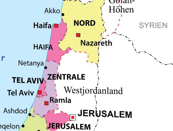 """Deutschland im Jahr 2016: Im Hotel Kempinski war Israel """"versehentlich"""" gestrichen"""