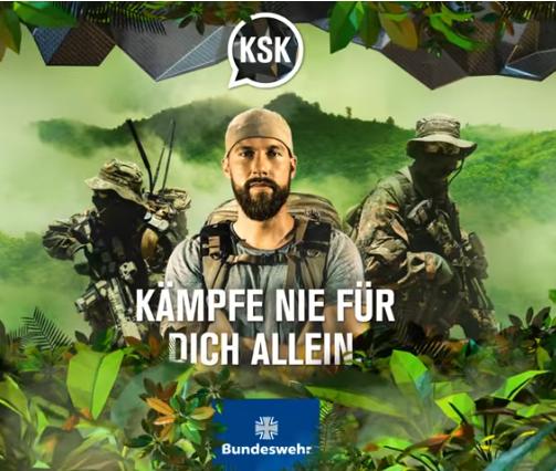 Schockt die Grünen: Werbt für die Bundeswehr!