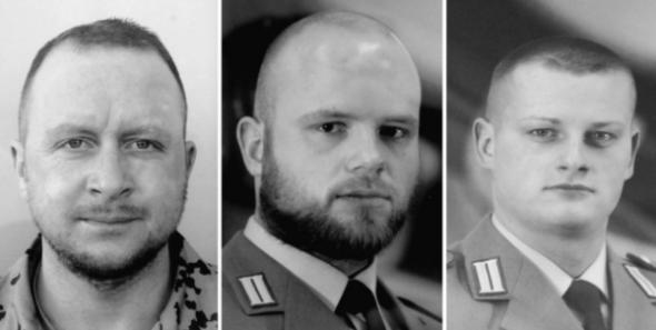 Gefallen für Deutschland: Drei tote Soldaten, und kaum einen kümmert es