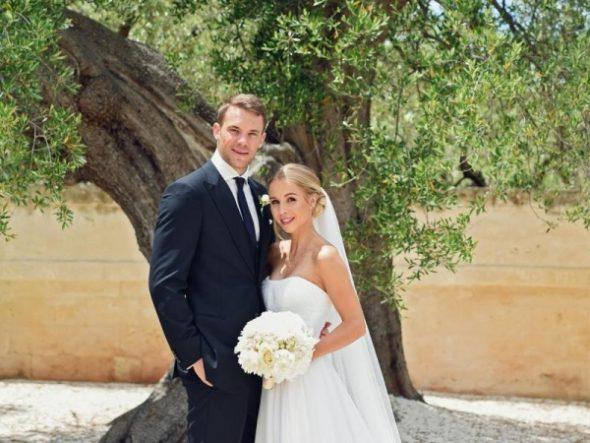 Glückwunsch, dass Ihr euch getraut habt, liebes Ehepaar Neuer!
