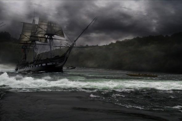Ein Narrenschiff auf großer Fahrt
